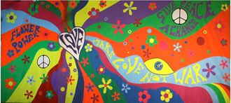 Picture of Backdrop  60's Psychedelic 12m x 6m