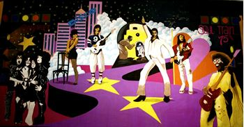 Picture of Backdrop 70's Disco  12m x 6m