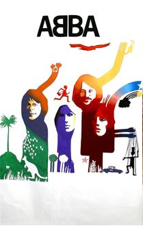 Picture of Poster ABBA 3m x 2m