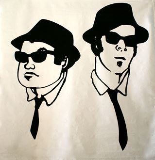 Picture of Poster Blues Brothers  2.4m x 2.4m