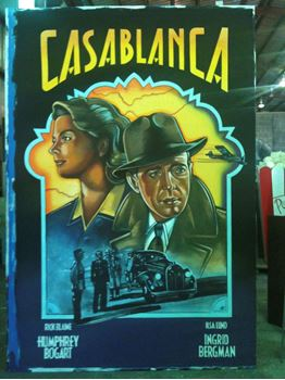 Picture of Poster Casablanca 3mx2m