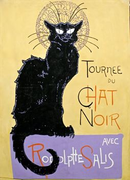 Picture of Poster Chat Noir 3m x 2m