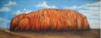 Picture of Backdrop Uluru  12m x 4m