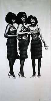 Picture of Banner The Supremes  6m x 3m