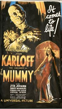 Picture of Poster The Mummy 3m x 2m