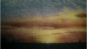 Picture of Backdrop Sunset  12m x 6m