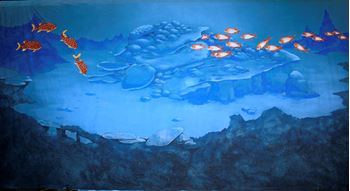 Picture of Backdrop Underwater Fantasy: Coral Reef Fish  12m x 6m