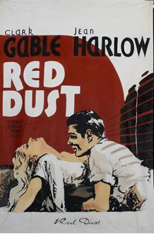 Picture of Poster Red Dust 3m x 2m