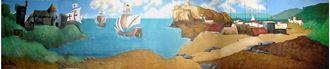 Picture of Backdrop Pirate Cove  20m x 4m