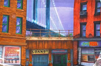 Picture of Backdrop New York Street 12m x 8m