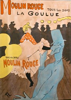 Picture of Poster Toulose Lautrec Poster 3m x 2m