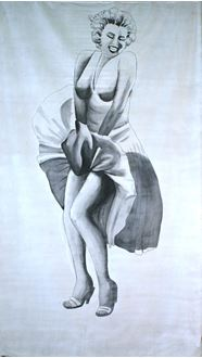 Picture of Banner Marilyn Monroe 6m x 3m
