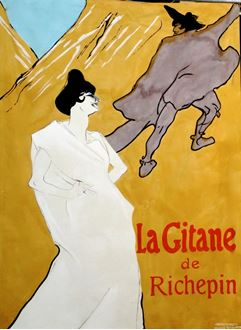 Picture of Poster Le Gitane 3m x 2m