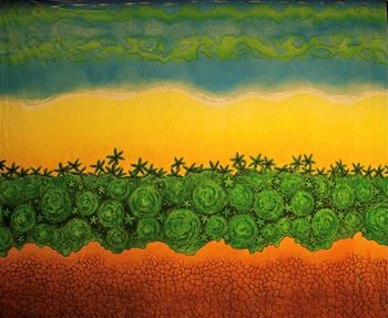 Picture of Tropical style - Backdrop -  6m W x 6m H