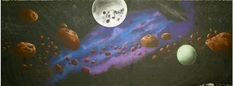 Picture of Backdrop Space Odyssey 2 -12m x 4m