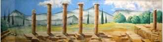 Picture of Backdrop Ancient Greek/ Roman 1  12m x 4m