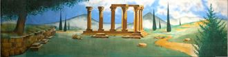 Picture of Backdrop Ancient Greek/Roman 2  12m x 4m