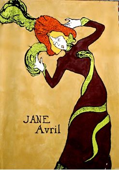 Picture of Poster Jane Avril 3m x 2m