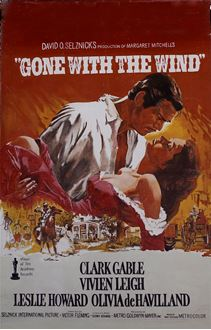 Picture of Poster Gone With the Wind 3m x 2m