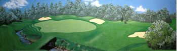 Picture of Backdrop Golf Course 1  10m x 3m
