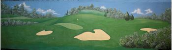 Picture of Golf Course 2 - 10m W x 3m H