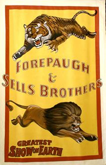 Picture of Poster Forepaugh Circus 3m x 2m