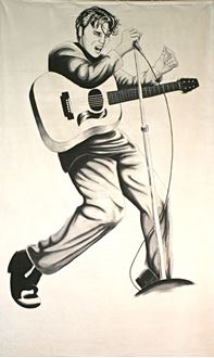 Picture of Banner Elvis Presley 6m x 3m