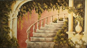Picture of Backdrop Staircase  6m x 4m