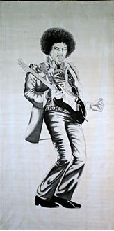 Picture of Banner Jimi Hendrix  6m x 3m