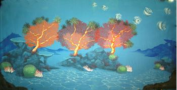 Picture of Backdrop Underwater Fantasy: Coral Reef  12m x 6m