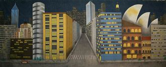 Picture of Backdrop City Skyline  10m x 4m