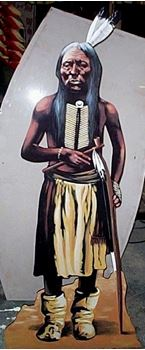 Picture of Cutout American Indian