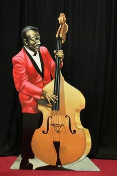 Picture of Cutout Jazz Band Bass Player
