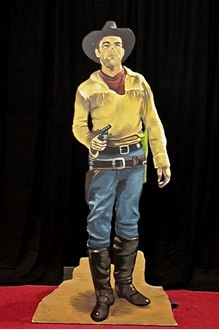 Picture of Cutout Cowboy