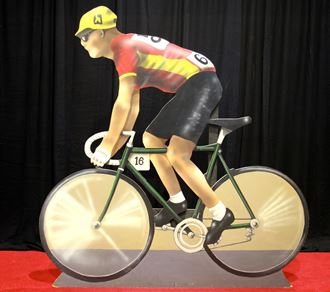 Picture of Cutout Cyclist