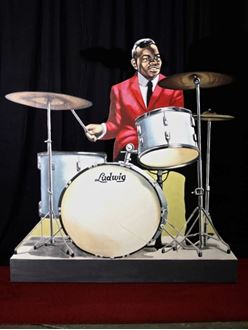 Picture of Cutout Jazz Band Drummer