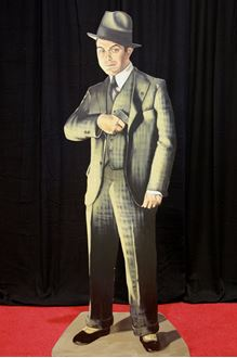 Picture of Cutout Edward G Robinson gangster