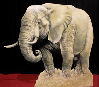Picture of Cutout Elephant