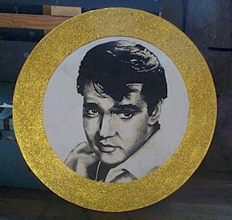 Picture of Cutout Elvis