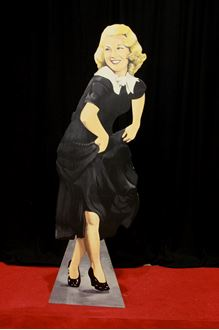 Picture of Cutout Ginger Rogers
