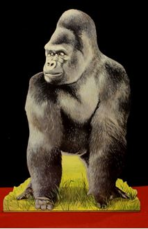 Picture of Cutout Gorilla