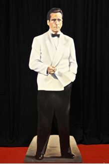 Picture of Cutout Humphrey Bogart Casablanca