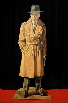 Picture of Cutout Humphrey Bogart Gangster