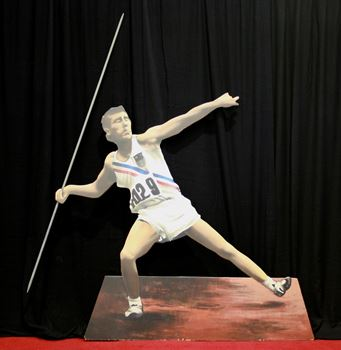 Picture of Cutout Javelin Thrower