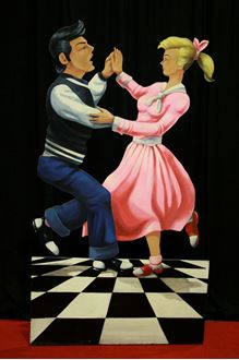 Picture of Cutout 50's Jive Couple #1