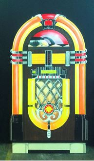 Picture of Cutout Jukebox