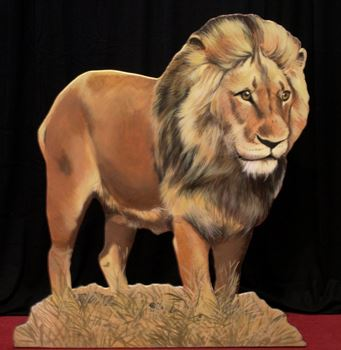 Picture of Cutout Lion
