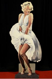 Picture of Cutout Marilyn Monroe
