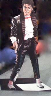 Picture of Cutout Michael Jackson