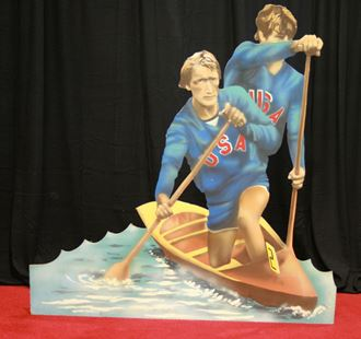 Picture of Cutout Canoeist